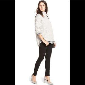 Paige Verdugo Ultra Skinny Black Jeans